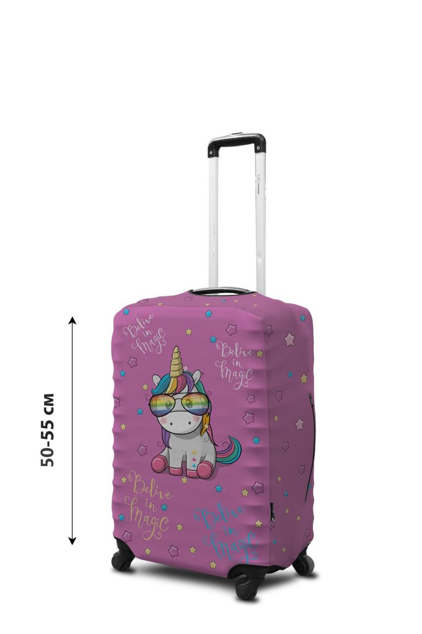 Чехол для чемодана Coverbag неопрен S пони
