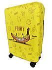Чехол для чемодана Coverbag неопрен M банан, фото 2