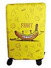 Чехол для чемодана Coverbag неопрен M банан, фото 3