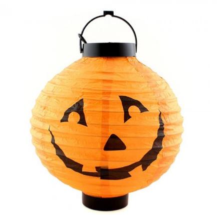Светильник Тыква LED Шар  ABC Хэллоуин, фото 2