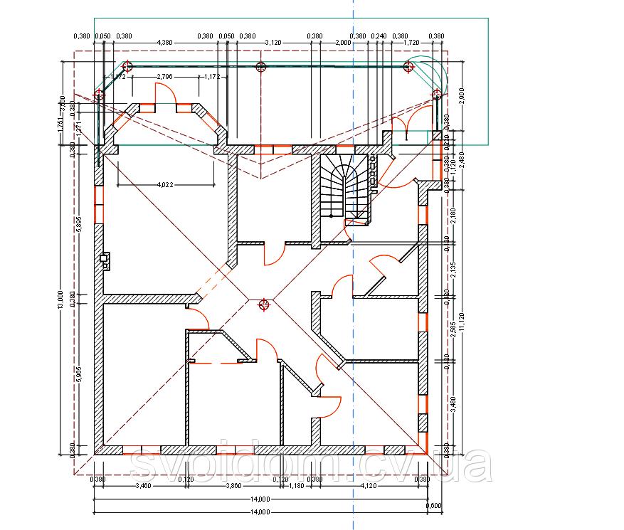 Проектирование и строительство сложных особняков в Черновцах