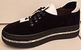 Кроссовки женские из натуральной замши от производителя модель ЛТ105, фото 4
