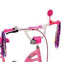 Велосипед детский PROF1 20д. Y2021-1 Bloom, розовый, фото 2
