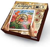 Настенные часы Decoupage Clock с рамкой Данко Тойс DKС-01-04