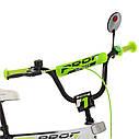 Велосипед детский PROF1 18д. SY1854 Inspirer,черно-бело-салатовый, фото 2