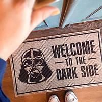Придверний килимок Welcome to the dark side 75*45*0,4 см (KOV_20S013)