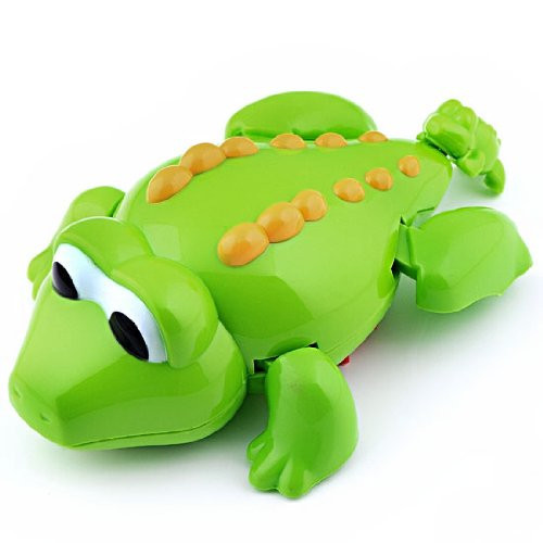 Заводная игрушка для купания 518AB (Крокодил)