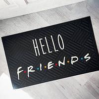 Придверний килимок Hello friends 75*45*0,4 см (KOV_20S004)