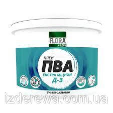 Клей ПВА Д3 универсальный FLORA Сolour 5 кг