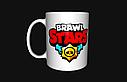 Чашка з принтом Бравл Старс Бібі, фото 2