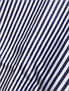 Женская коттоновая свободная рубашка в полоску с открытым плечом (р. 42-44) 61BL416, фото 4