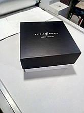 Картонная коробка с печатью 25х25х9см