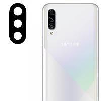 Гибкое защитное стекло 0.18mm на камеру (тех.пак) для Samsung Galaxy A30s