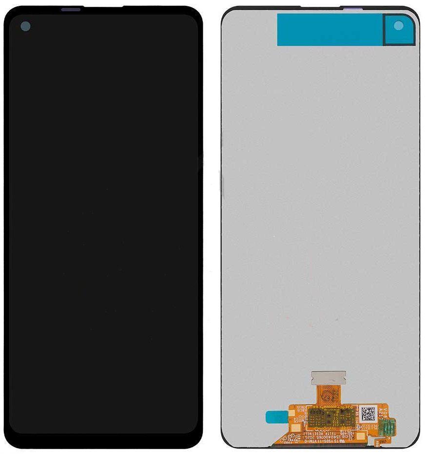 Дисплей (екран) для телефону Samsung Galaxy A21s A217 2020 + Touchscreen Black