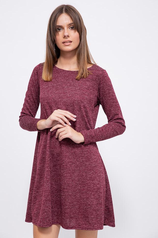 Платье 153R1089 цвет Бордовый