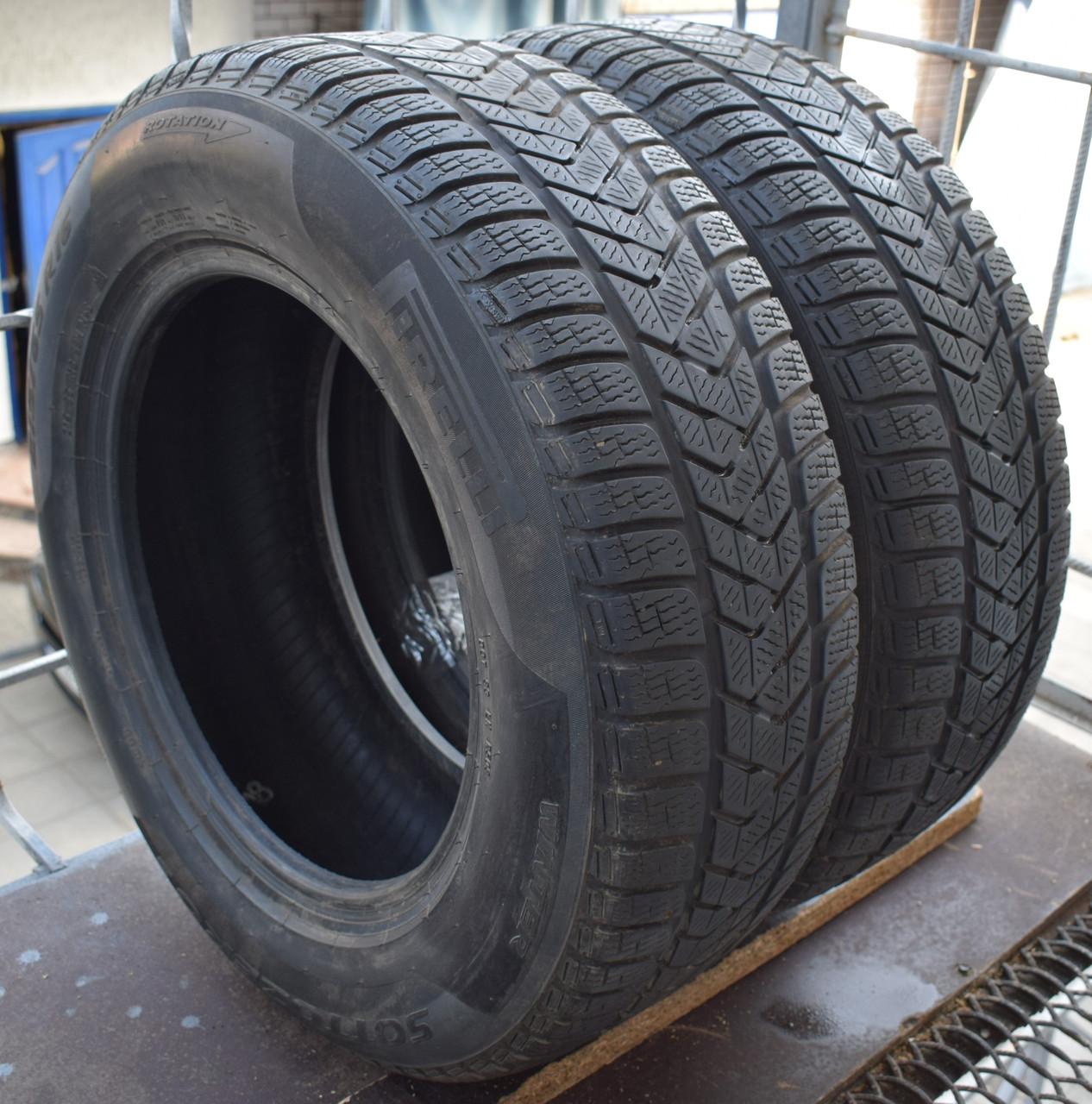 Шины б/у 215/65 R16 Pirelli Winter Sottozero3, пара