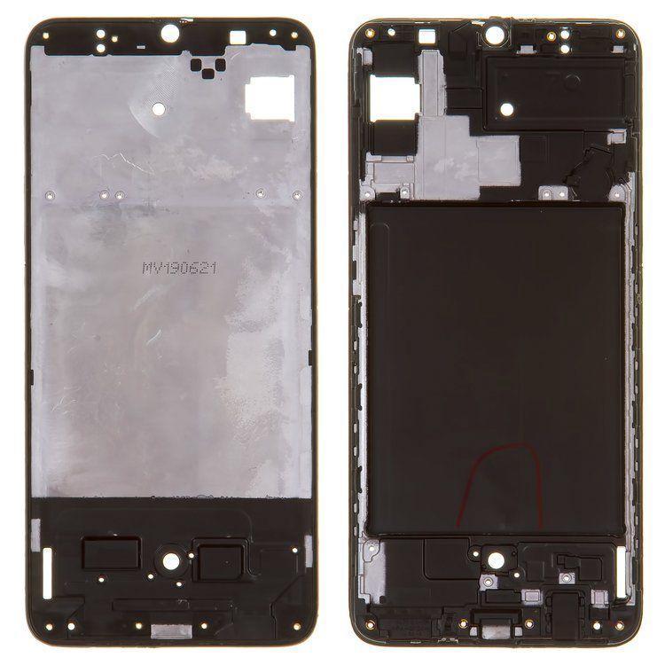 Рамка дисплея Samsung A705F / DS Galaxy A70 Black
