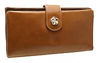 Красивый женский кошелечек 5998 Khaki на кнопке