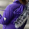 """Зимняя стильная куртка для девочки """"Лика"""", фото 4"""