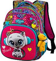 Школьный рюкзак для девочки в 1-4 класс ортопедический на 20 л. Winner One R3-220