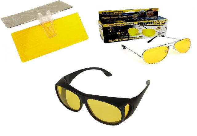АнтиБликовые очки и козырьки от солнца