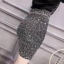Женская юбка - карандаш с пайетками выше колена (р. 42-46) 83jus438, фото 5