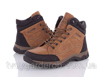 Зимние мужские ботинки р40-45 (код 7340-00)