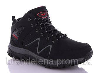 Зимові чоловічі черевики р41-45 (код 8777-00) чорний