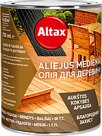 Altax Олія для деревини 0,75 л Сірий
