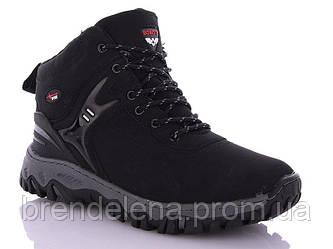 Зимові чоловічі черевики р41-46 (код 8609-00) чорний