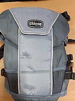 Эрго нагрудная рюкзак-кенгуру для младенцев Chicco Ultrasoft Magic Светло-серый (1120744188)