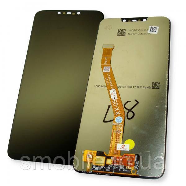 Huawei Дисплей Huawei Mate 20 Lite с сенсором, черный (оригинальные комплектующие)