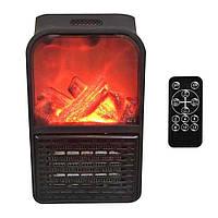 Камін обігрівач Flame Heater з пультом, портативний домашній обігрівач, фото 1
