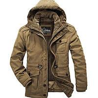 Мужская стильная куртка с капюшоном, модель 0337