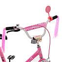 Велосипед детский PROF1 18д. Y1881 Flower, розовый, фото 2