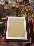 Киот резной белый 36.5х32см под иконы, фото 4