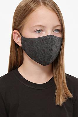 Детская маска защитная многоразовая двухслойная