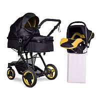 Универсальная коляска 3 в 1 с автокреслом Ninos Bono Yellow КОД: N2019BONO2R