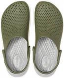 Кроксы женские Crocs LiteRide™ Clog хаки 37 р., фото 4