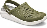 Кроксы женские Crocs LiteRide™ Clog хаки 37 р., фото 5