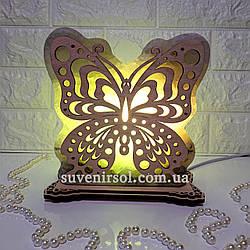 Соляна лампа Метелик 1