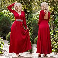 """Элегантное вечернее женское длинное платье """"Олимп"""""""