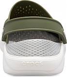 Мужские кроксы Crocs LiteRide™ Clog хаки 42 р., фото 3