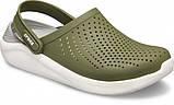 Мужские кроксы Crocs LiteRide™ Clog хаки 42 р., фото 5