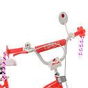 Велосипед детский PROF1 16д. SY16195 Angel Wings,коралловый, фото 2