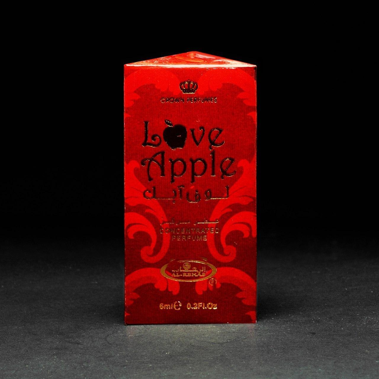 Арабские масляные духи Love Apple Al Rehab - яблоко, ваниль, корица 6 мл