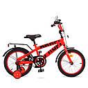 Велосипед дитячий PROF1 16д. T16171 Flash,червоний, фото 2