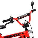 Велосипед дитячий PROF1 16д. T16171 Flash,червоний, фото 3