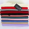 Кашемировый однотонный красный шарф палантин Cashmere 104014, фото 2