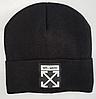 Мужская шапка с логотипом (50-60) 2 цвета